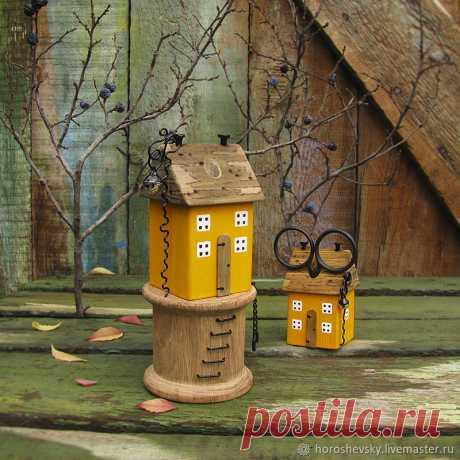 Домик - маяк - органайзер для ножниц (10) – заказать на Ярмарке Мастеров – DXLSPRU | Статуэтки, Луганск