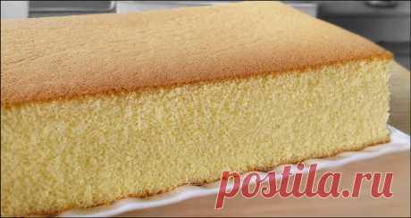 KitchenTigress: Honey Castella (Kasutera) Cake (蜂蜜 蛋糕)