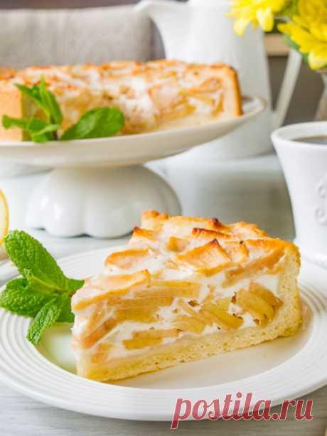 Рецепт цветаевского яблочного пирога на Вкусном Блоге