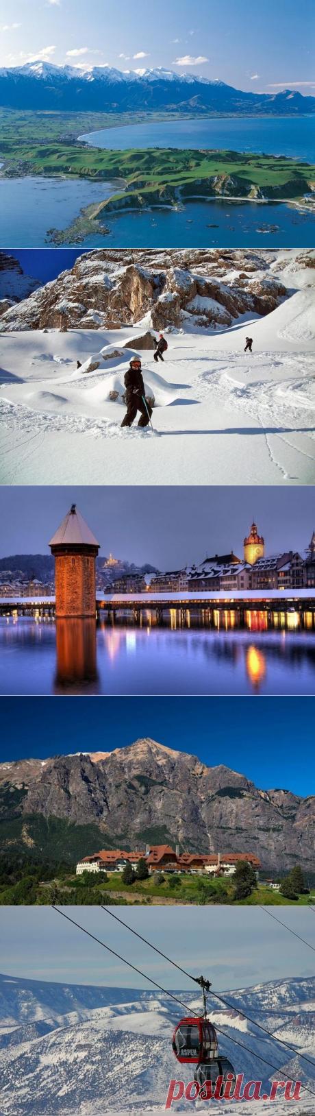 12 самых живописных городов мира, расположенных у подножий гор