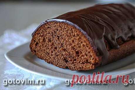 Шоколадный кекс с кофе и ликером. Фото-рецепт / Готовим.РУ