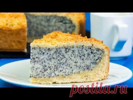 Десерт которым хочется наслаждаться каждый день - немецкий маковый пирог с творогом. | Appetitno.TV