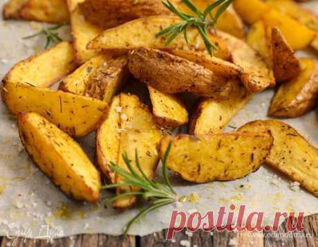 Кулинарные советы. Быстрый мастер-класс: готовим картофель по-деревенски