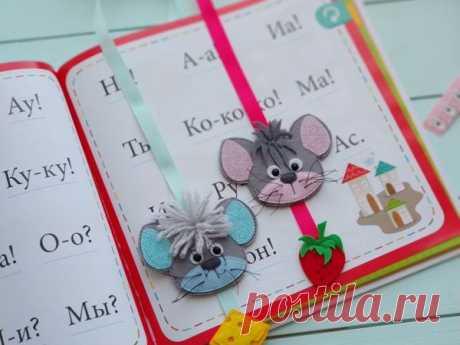 Мастер-класс смотреть онлайн: Мышки-закладки из фетра своими руками | Журнал Ярмарки Мастеров