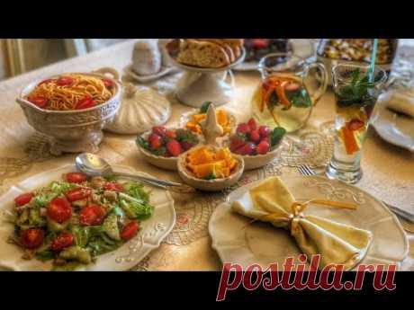 УЖИН из заготовок всего за 1 час 😍 ужин на 4 персоны /идея для ИФТАРА. #ИФТАР#УЖИН#ВКУСНЫЙ