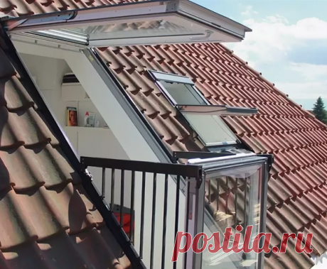 Мансардное окно балкон установка   андрей свердлов   Яндекс Дзен