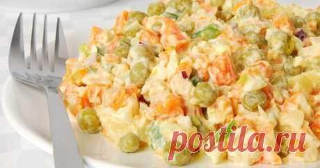 Рецепт изумительно легкого и вкусного салата «Николь» с куриной грудки без майонеза