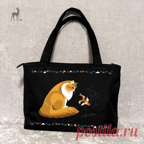 Пошив сумок: от макета к вещи M.Sweet – дизайнерские сумки ручной работы с росписью