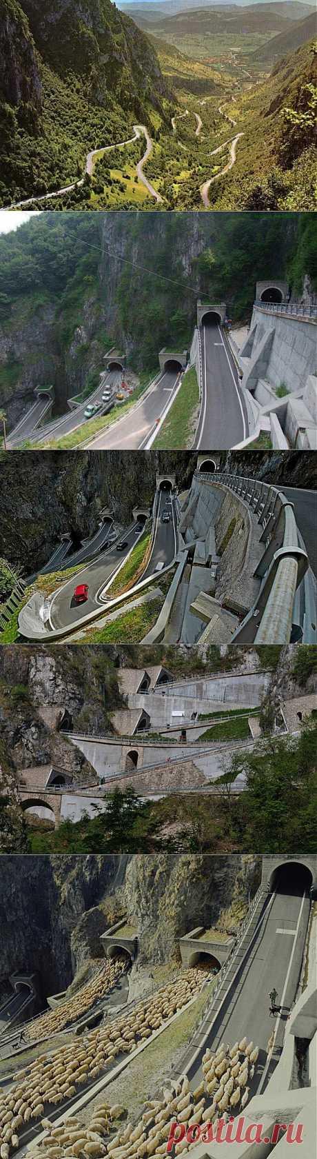 Перевал Сан-Болдо в Италии | Наука и техника