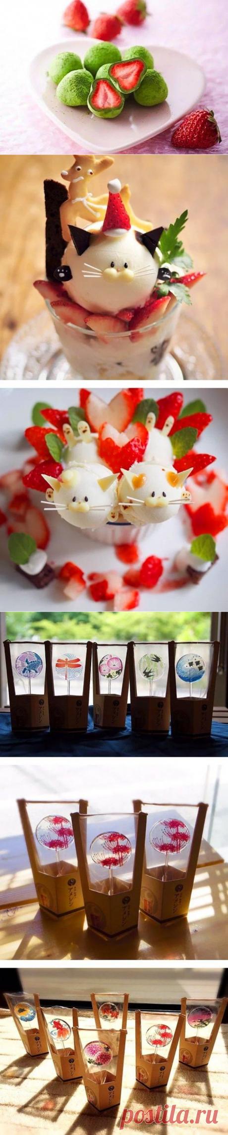 30 странных и удивительных японских сладостей!