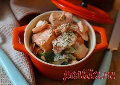 (3) Рагу из лосося 🌻💛 - пошаговый рецепт с фото. Автор рецепта Елизавета . - Cookpad