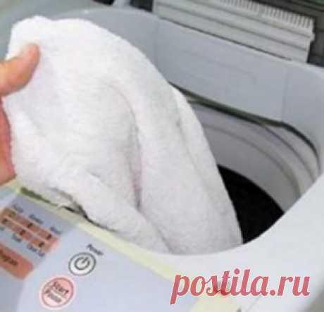 Исчезают все жирные пятна и пятна от кофе! Идеально белоснежные полотенца - МирТесен