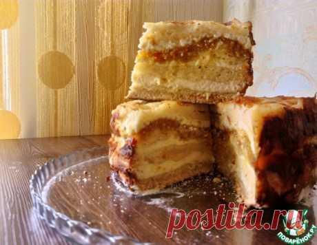 Творожное пирожное без замеса теста – кулинарный рецепт