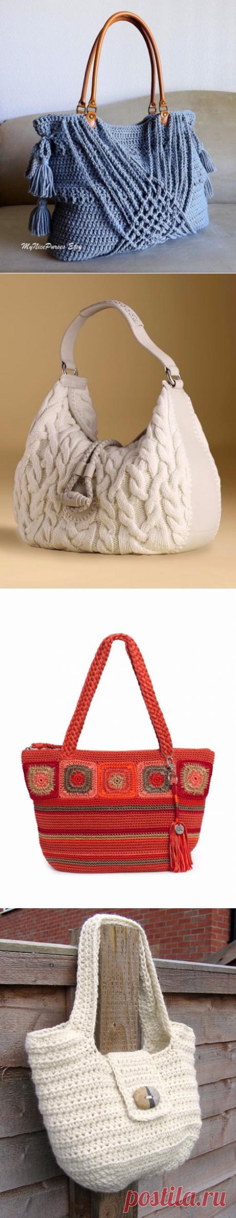 Сумочки. Вязание
