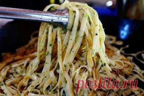 Вкуснейшая Сливочная паста с петрушкой, лимоном и чесночком Лучший итальянский ужин на моем столе!
