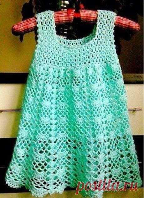 Легкое платье на лето для ребенка