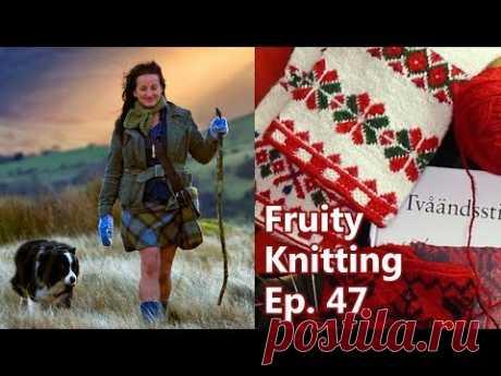 Become a Fruity Knitting Patron: https://www.patreon.com/fruityknitting Full Program Notes: https://fruityknitting.com/2018/02/13/twined-two-end-knitting-shep...