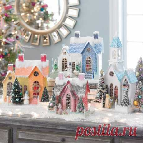 ШАБЛОНЫ: Рождественские домики и шаблоны #вдохновение@scrapidea #новогодний_скрапбукинг@scrapidea #шаблон@scrapidea