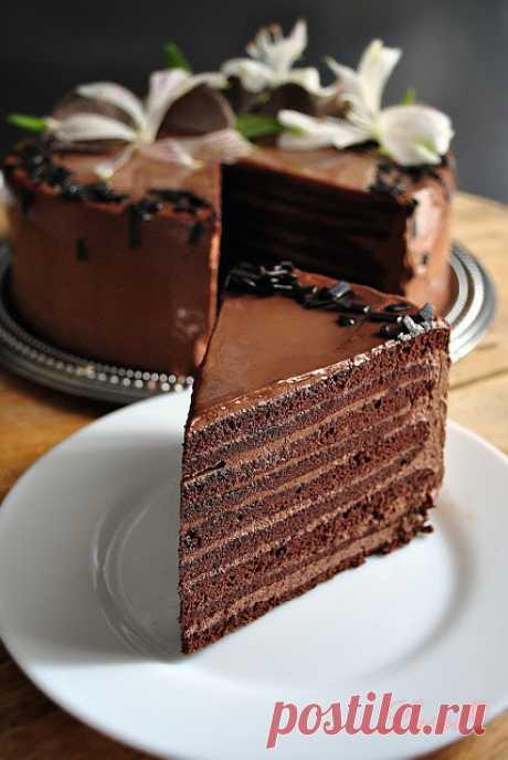 """Lussi`s World of Artcraft: Шоколадова торта """"Марчело"""" / Chocolate Cake Marcello"""