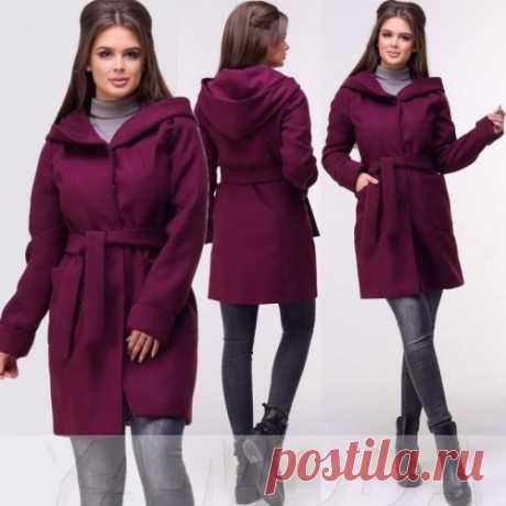 Пальто с поясом купить недорого