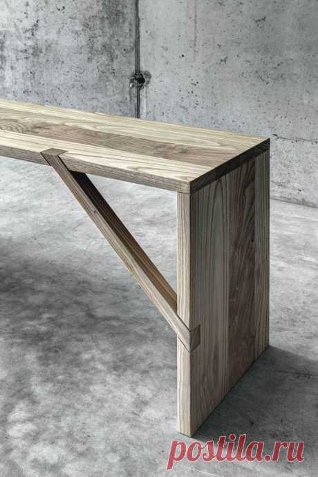 Tables, benches and bookshelves by Fioroni at Fuorisalone