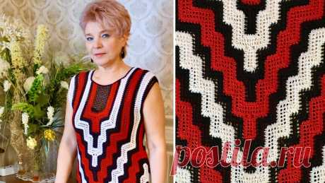 Платье крючком - Перевернутая Башня - Lilia Vignan