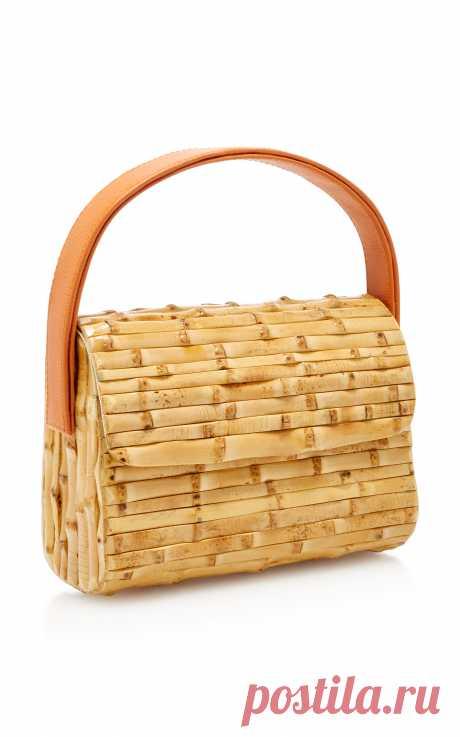 Milano Bamboo Tote by Glorinha Paranagua | Moda Operandi