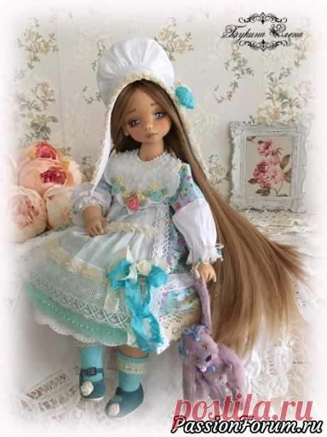 Коллекционная авторская кукла. - запись пользователя Елена (Елена) в сообществе Рукодельный магазинчик в категории Куплю-продам