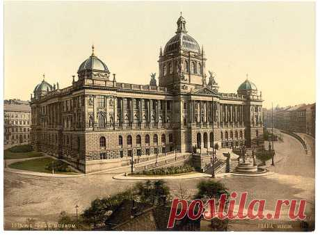 Прага (Prague). Library of Congress