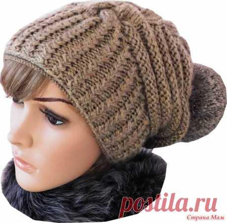 Зимняя шапка по мотивам известного дизайнера Negin Mirsalehi.