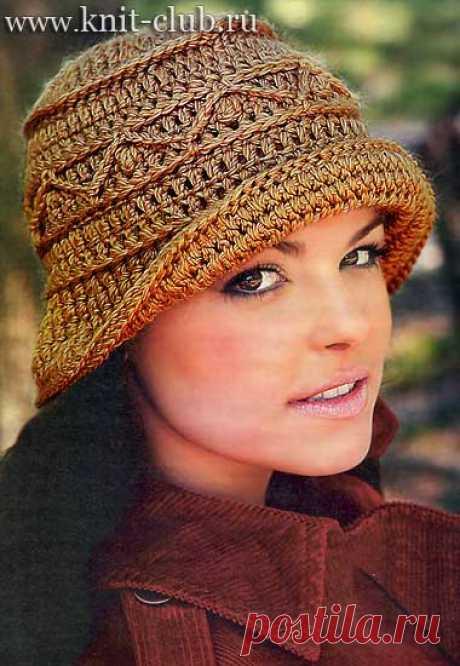 вязаные шапки крючком | Записи в рубрике вязаные шапки крючком | Вязание-для-женщин