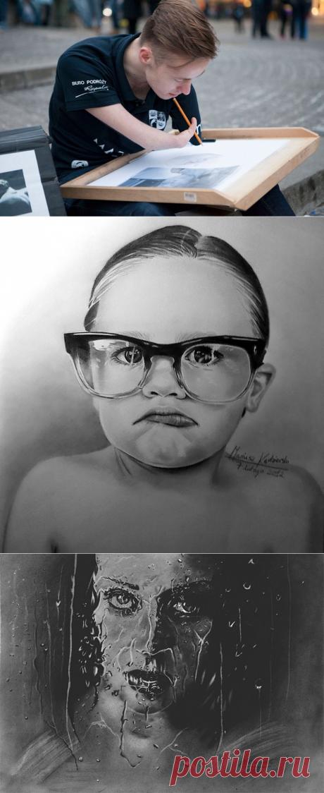 Парень родился без рук, ноэто непомешало ему создавать потрясающие картины