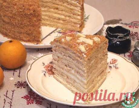 Слоеный творожный торт – кулинарный рецепт