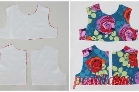 Шьем платье для девочки   #сарафан #платье #дети #выкройка #чертеж #шитье #мастер_класс #декор #дизайн #идея #рукоделие #творчество