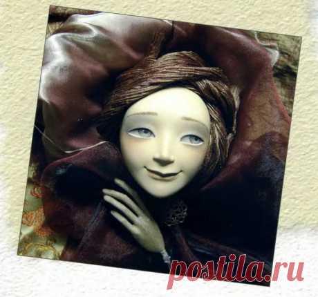 Полезное чтиво. МК. Роспись головы куклы из папье-маше. Советы профессианалов.
