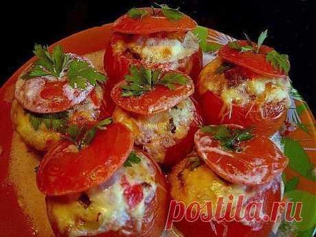 Фаршированные помидоры - 5 рецептов оригинальной закуски.