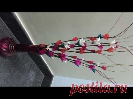 DIY Craft Project: How to Curl broom sticks for decoration
