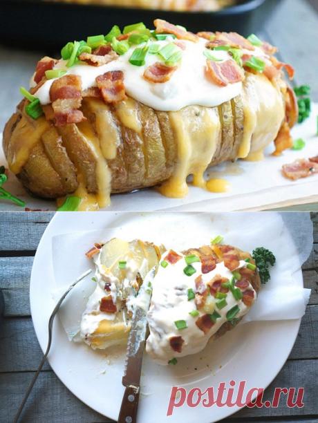 Картошечка запеченная с сыром