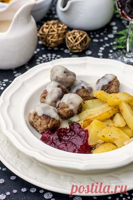 """Шведские фрикадельки """"Как из Икеи"""" - кулинарный рецепт"""