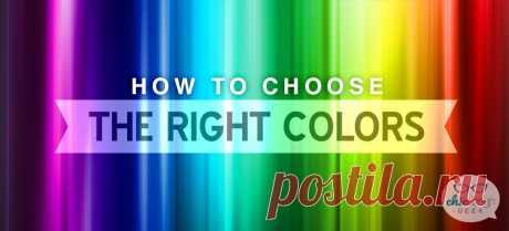 Психология цвета. Как воздействует цвет на человека.Как выбрать цвет для сайта