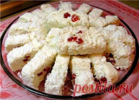 Лучшие кулинарные рецепты: Десерт «Белоснежка»