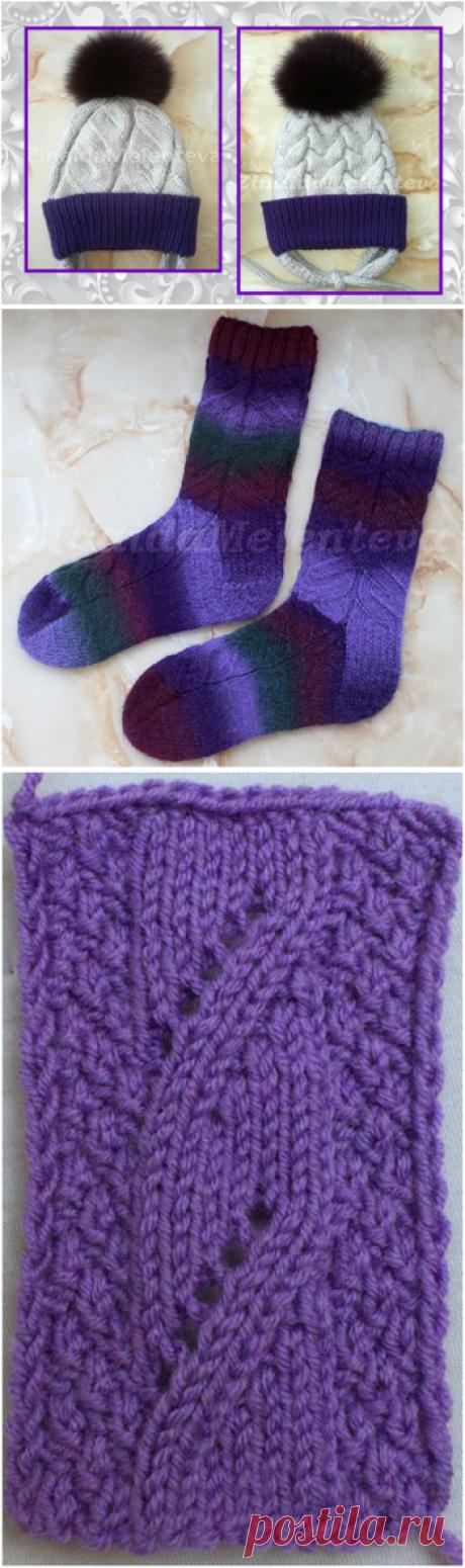 Учимся вязать плоские косы | 1000 идей для вязания спицами | Яндекс Дзен