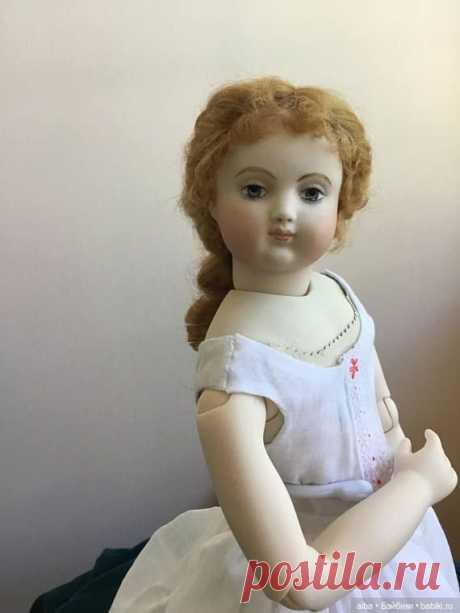 """Знаменитая кукла Виктора Гюго, """"Кукла Козетты"""" / Другие винтажные антикварные куклы, реплики / Бэйбики. Куклы фото. Одежда для кукол"""
