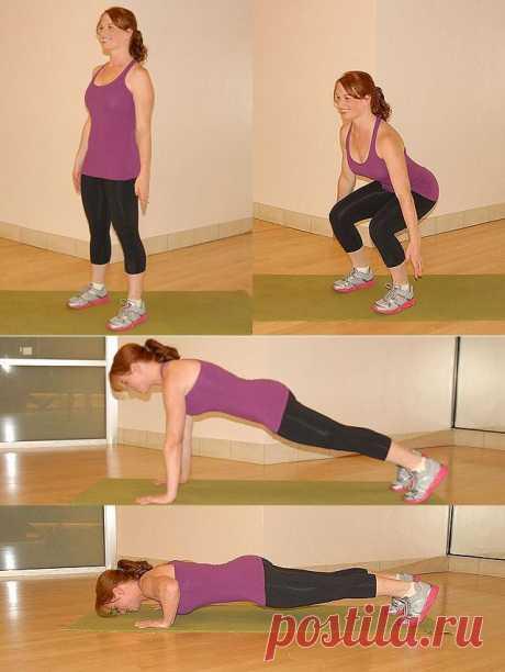 (+1) тема - 20 лучших упражнений для похудения | Диеты со всего света