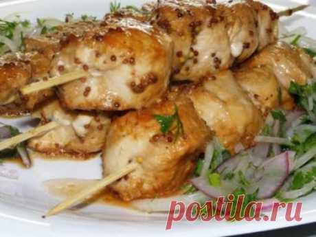 Готовим вкусно - Сочный и безумно вкусный шашлык из курицы, приготовленный в духовке