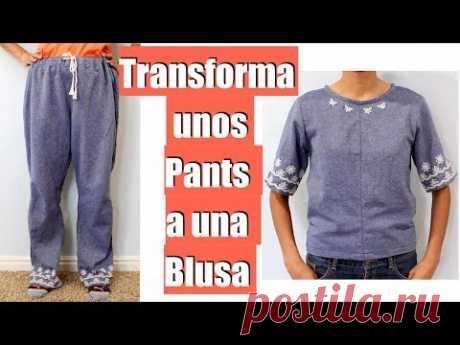 Transforma un Pants a una Blusa