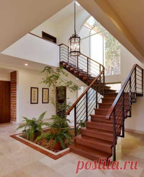 Виды лестниц в частном доме: 40 замечательных идей и фото