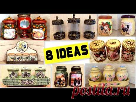 8 Amazing Diy Ideas for recycling jars | Home decor