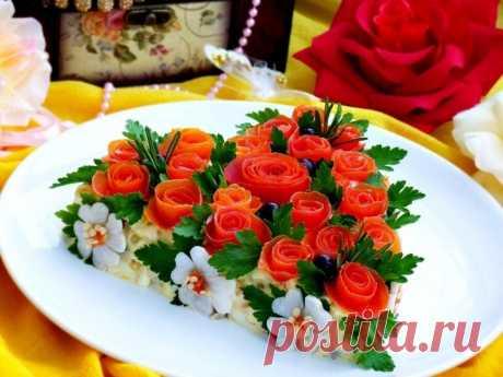 Как приготовить салат розовый блюз - рецепт, ингредиенты и фотографии