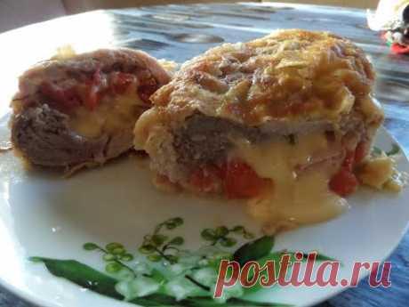 Мясной рулет с ветчиной и сыром . Рецепт приготовления. - YouTube